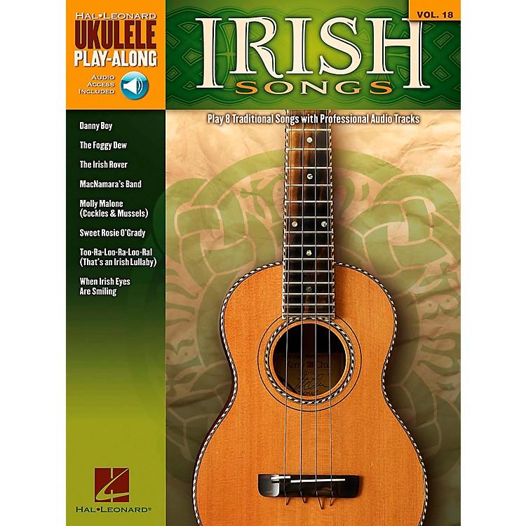 Hal LeonardIrish Songs - Ukulele Play-Along Volume 18 Book/CD