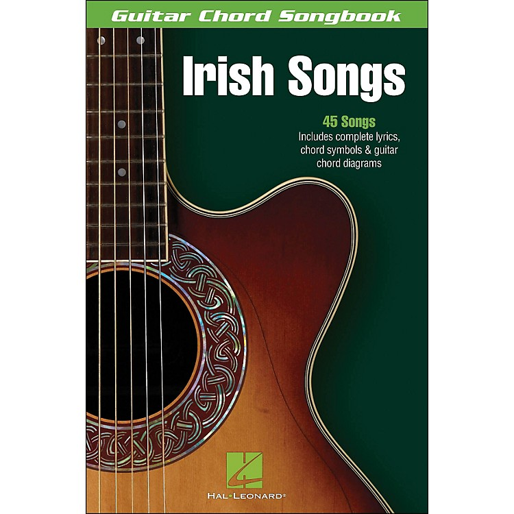 Hal Leonard Irish Songs Guitar Chord Songbook