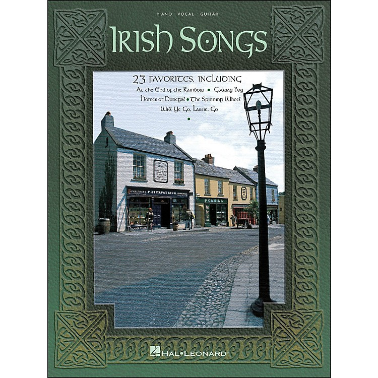 Hal LeonardIrish Songs arranged for piano, vocal, and guitar (P/V/G)