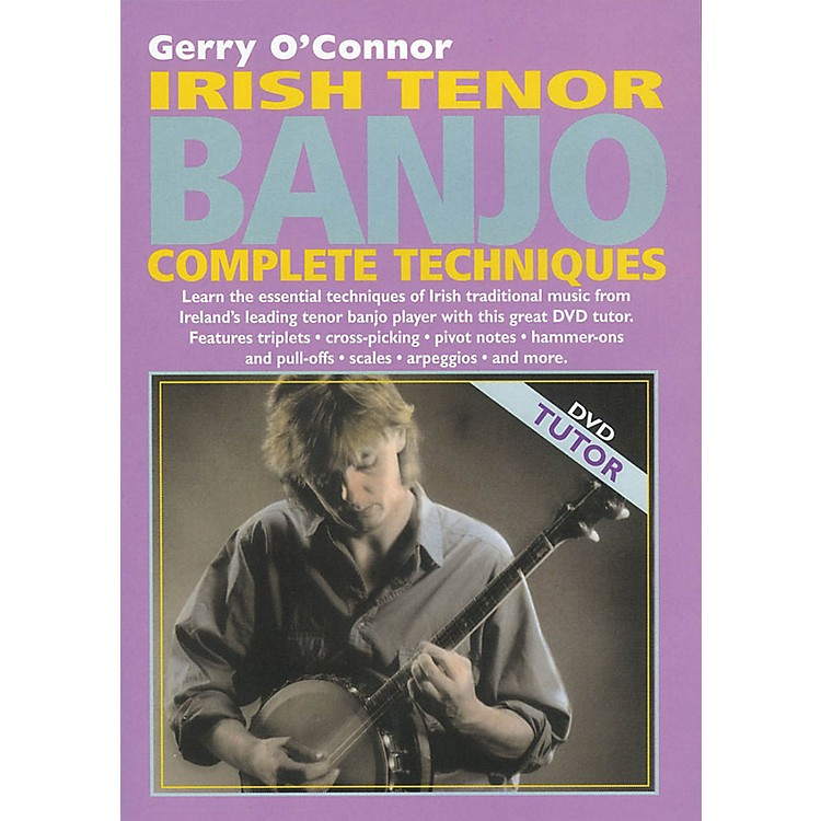 WaltonsIrish Tenor Banjo Complete Techniques Waltons Irish Music Dvd Series DVD Written by Gerry O'Connor