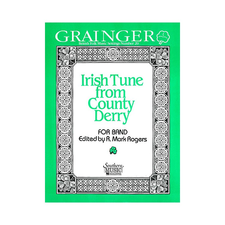 Southern Irish Tune from County Derry (Oversized Score) Concert Band Arranged by R. Mark Rogers