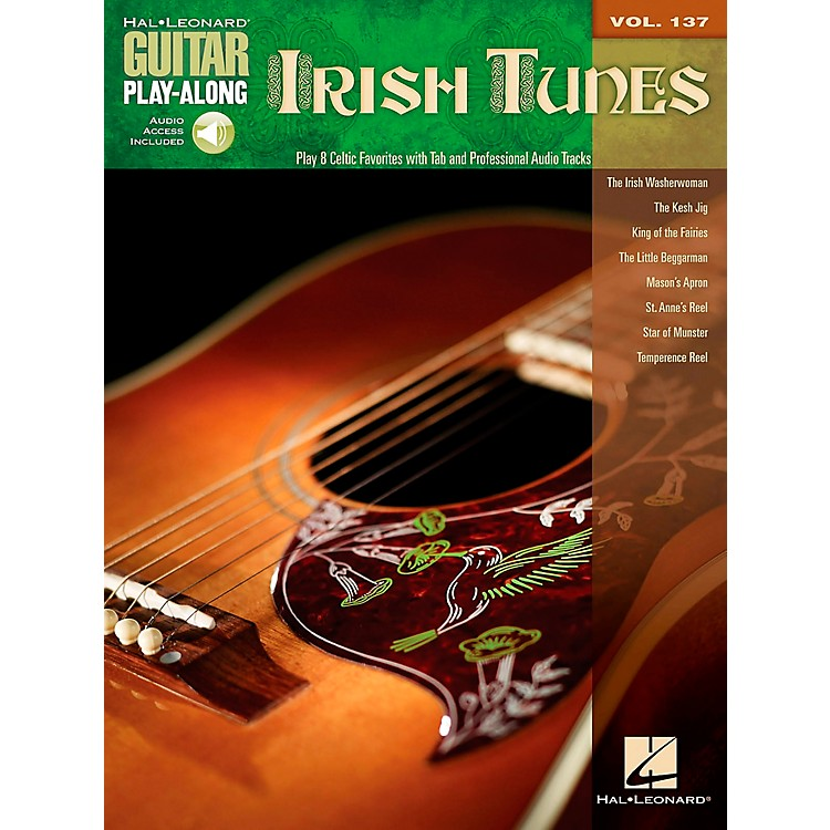 Hal Leonard Irish Tunes - Guitar Play-Along Volume 137 Book/CD