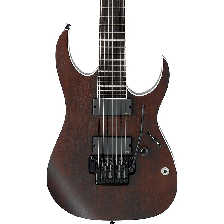 ibanez iron label rg series rgir27be with tremolo 7 string electric guitar music123. Black Bedroom Furniture Sets. Home Design Ideas