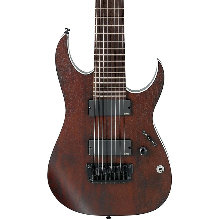 Ibanez Iron Label RG Series RGIR28BFE 8-String Electric Guitar Flat Walnut