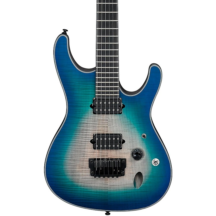 IbanezIron Label S Series SIX6FDFM Electric GuitarBlue Space Burst