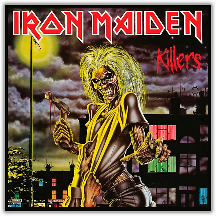 WEA Iron Maiden - Killers Vinyl LP
