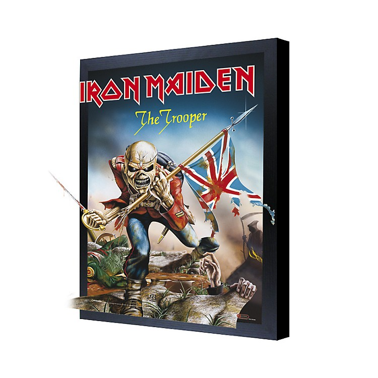 Ace Framing Iron Maiden 3D Framed Poster