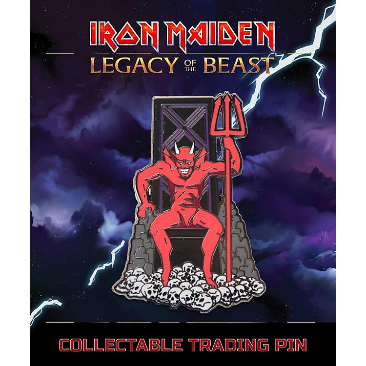 Entertainment EarthIron Maiden The Beast Lapel Pin