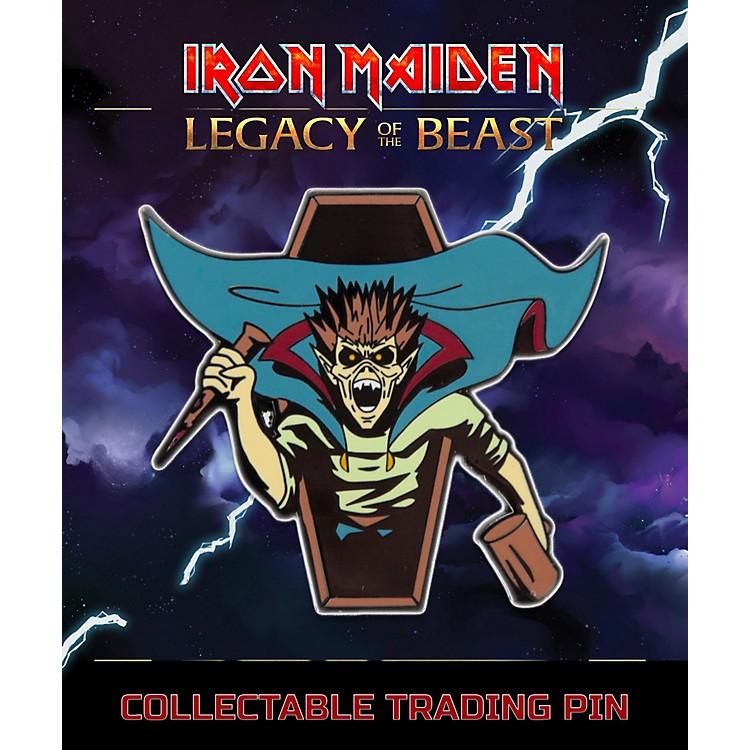 Entertainment EarthIron Maiden Vampire Hunter Eddie Lapel Pin