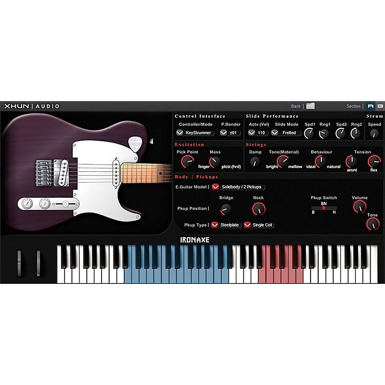 XHUN AudioIronAxe Virtual Guitar (Download)