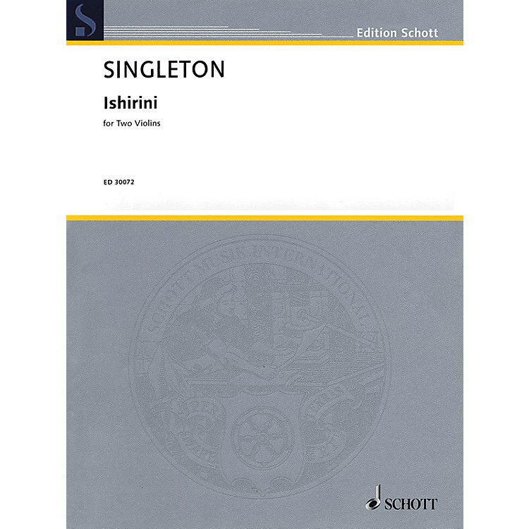 Schott Music Corporation New YorkIshirini (Two Violins Two Performance Scores) String Series Softcover