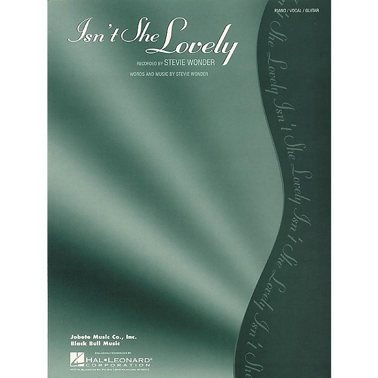 Hal LeonardIsn't She Lovely