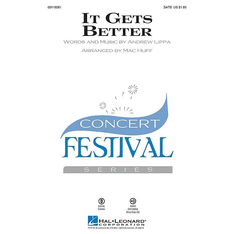 Hal Leonard It Gets Better SATB arranged by Mac Huff