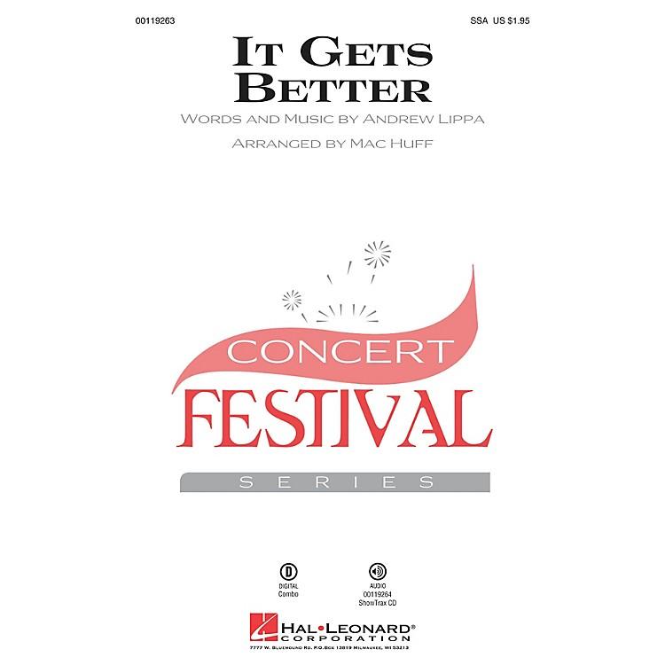 Hal LeonardIt Gets Better SSA arranged by Mac Huff