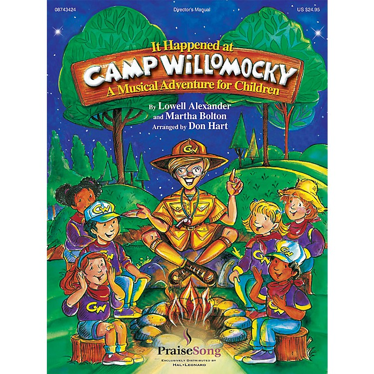 PraiseSong It Happened at Camp Willomocky (A Musical Adventure for Children) PREV CD Arranged by Don Hart