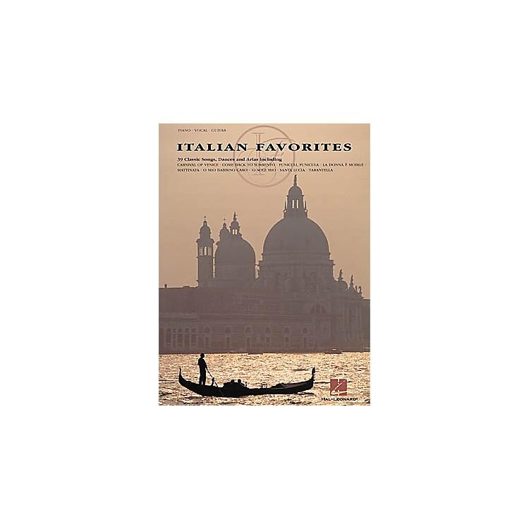 Hal LeonardItalian Favorites Piano, Vocal, Guitar Songbook