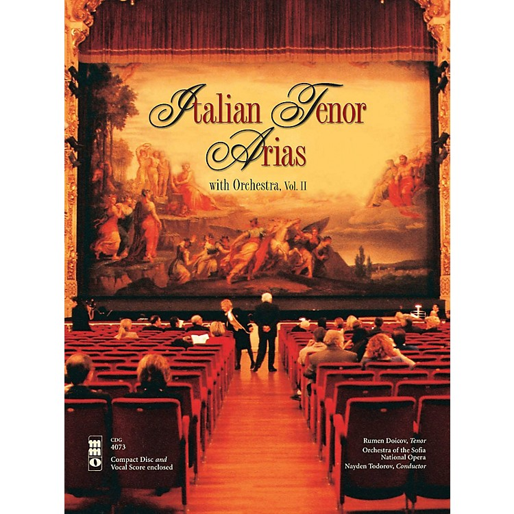 Music Minus OneItalian Tenor Arias with Orchestra, Vol. II Music Minus One Series Softcover with CD  by Various