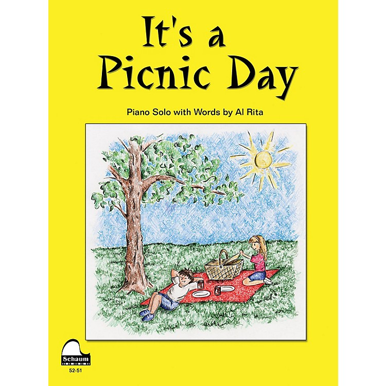 SCHAUMIt's A Picnic Day Educational Piano Series Softcover