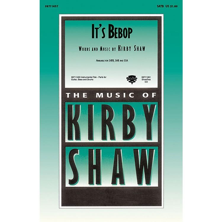 Hal LeonardIt's Bebop SAB Composed by Kirby Shaw