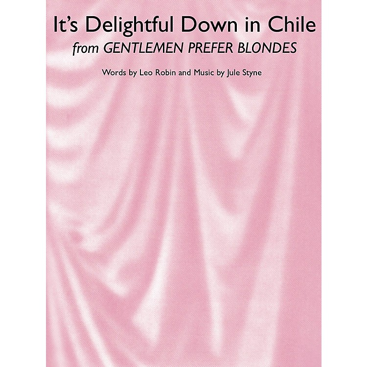 Music SalesIt's Delightful Down In Chile Music Sales America Series