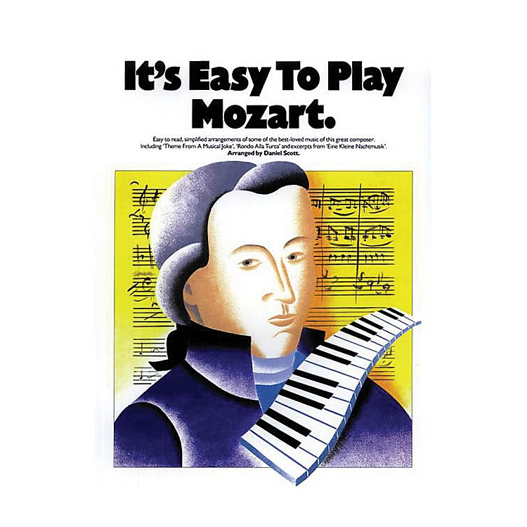 Music SalesIt's Easy to Play Mozart Music Sales America Series Softcover