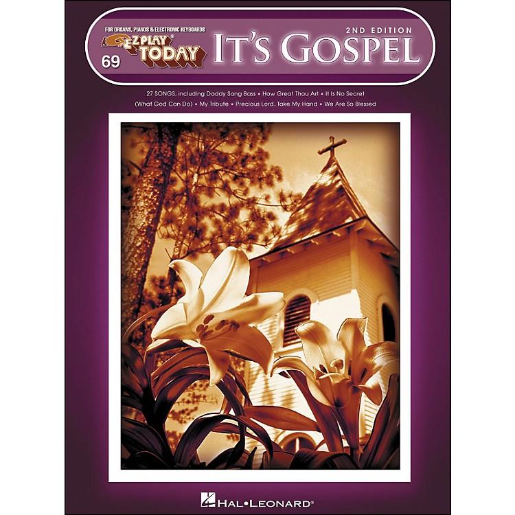 Hal LeonardIt's Gospel 2nd Edition E-Z Play 69