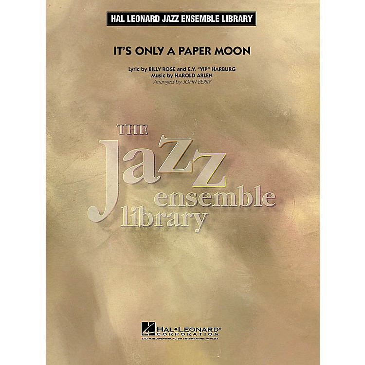 Hal LeonardIt's Only a Paper Moon Jazz Band Level 4 Arranged by John Berry