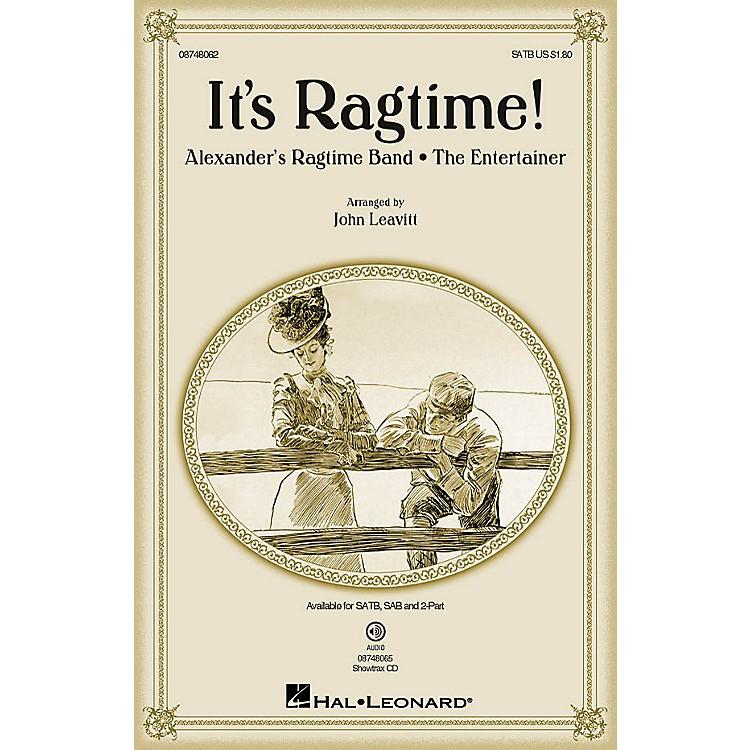 Hal LeonardIt's Ragtime! SATB arranged by John Leavitt