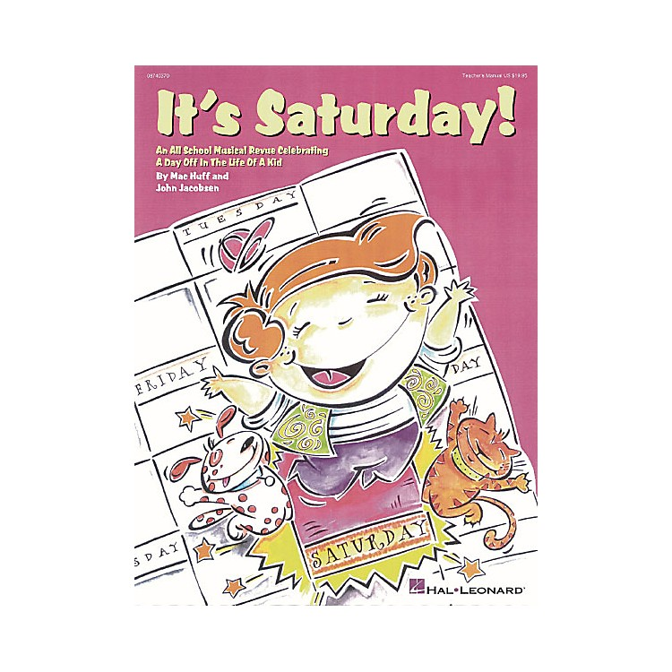 Hal Leonard It's Saturday! (All-School Revue) Singer 5 Pak Composed by John Jacobson