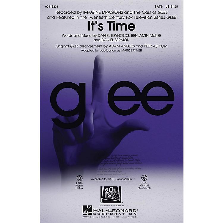 Hal LeonardIt's Time SAB by Glee Cast Arranged by Adam Anders