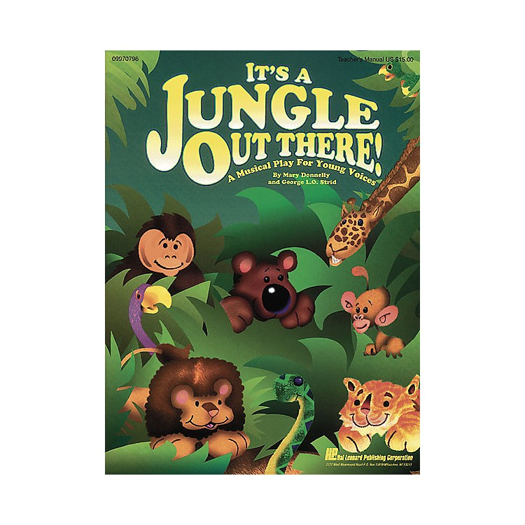 Hal LeonardIt's a Jungle Out There (Musical) Singer 5 Pak Composed by Mary Donnelly