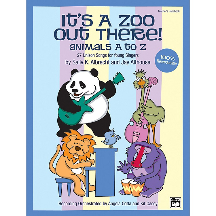 AlfredIts a Zoo Out There! Animals A to Z Book/CD