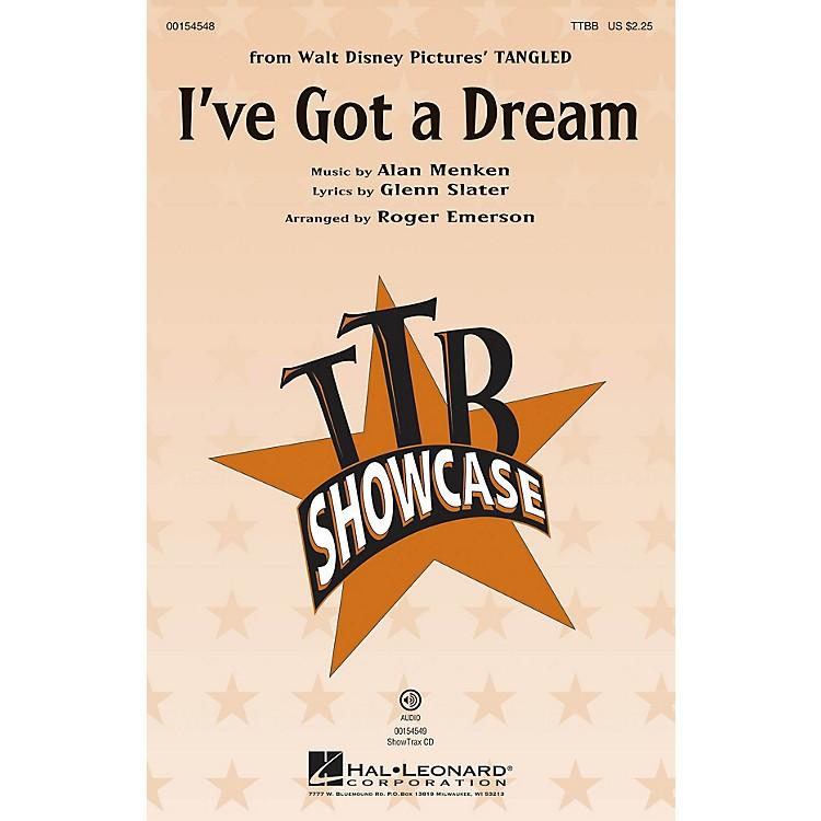 Hal LeonardI've Got a Dream (from Tangled) TTBB arranged by Roger Emerson