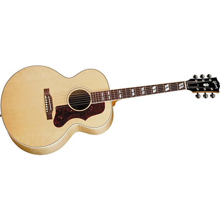 Gibson J-185 Acoustic-Electric Guitar Antique Natural