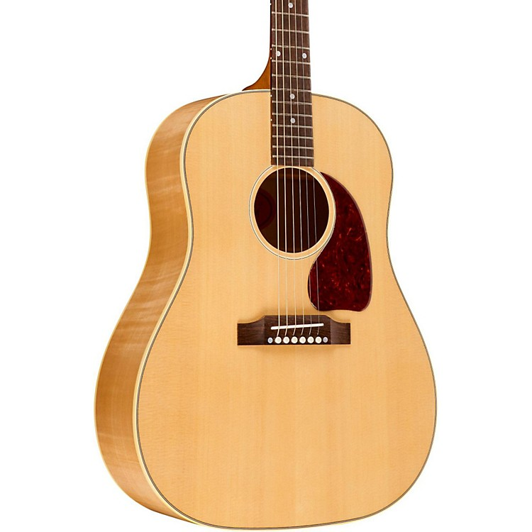 GibsonJ-45 Big Leaf Maple Tonewood Edition Acoustic-Electric GuitarNatural