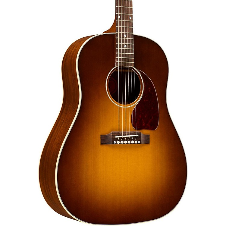 Gibson J-45 Granadillo Tonewood Edition Acoustic Guitar Honey Burst
