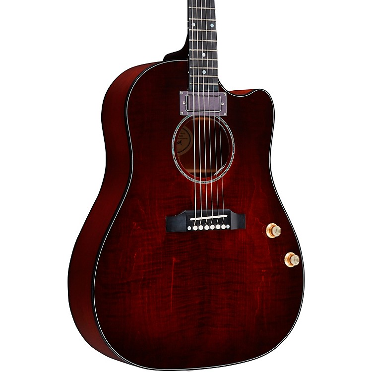 GibsonJ-45 Humbucker Acoustic-Electric GuitarBlood Orange