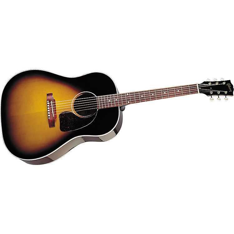 gibson j 45 modern classic mahogany acoustic electric guitar music123. Black Bedroom Furniture Sets. Home Design Ideas