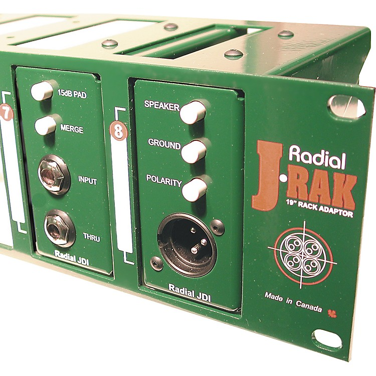 Radial EngineeringJ-RAK 2-Space Rack Adapter for 8 Units