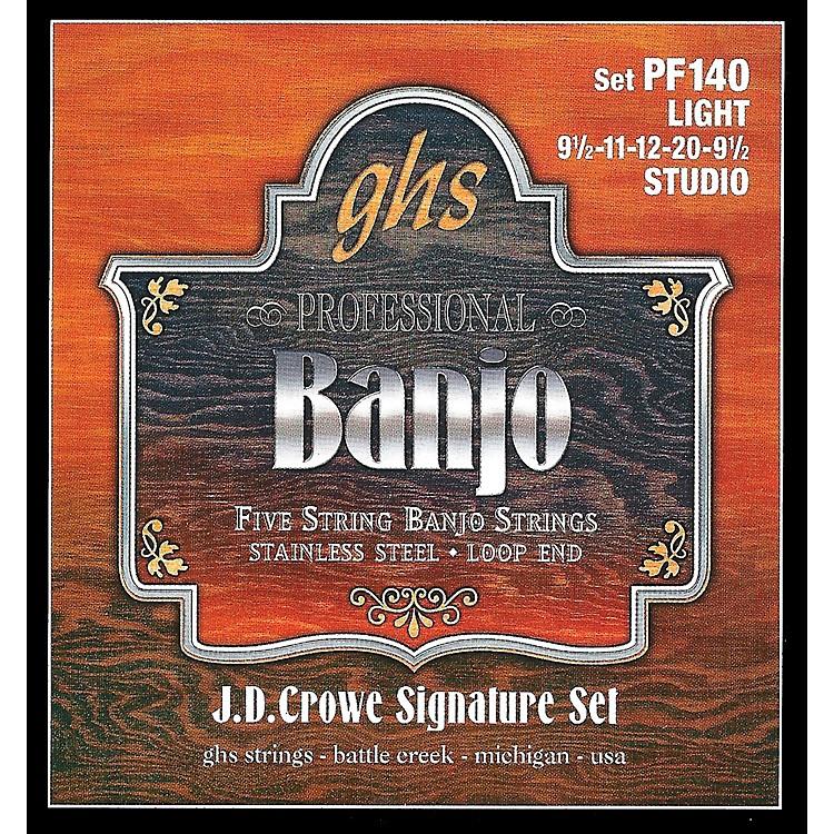 GHSJ. D. Crowe Studio Signature 5-String Banjo Strings Light