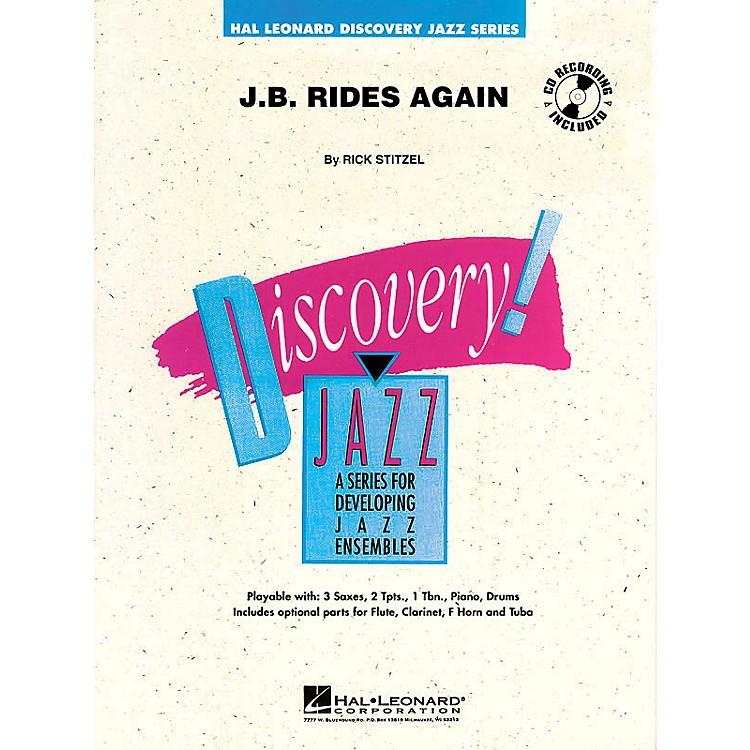 Hal LeonardJ.B. Rides Again Jazz Band Level 1 Composed by Rick Stitzel