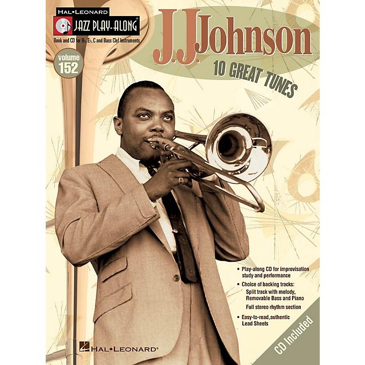 Hal LeonardJ.J. Johnson (Jazz Play-Along Volume 152) Jazz Play Along Series Softcover with CD by J.J. Johnson