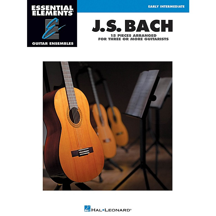 Hal LeonardJ.S. Bach - 15 Pieces Arranged for Three or More Guitarists Essential Elements Guitar Series Softcover