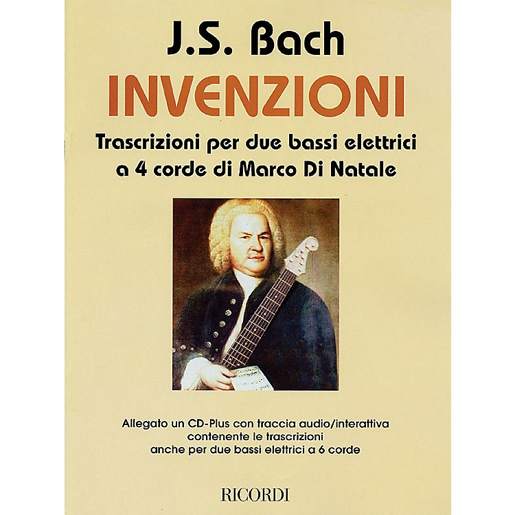 RicordiJ.S. Bach - Inventions (Transcriptions for 2 Four-String Electric Basses) Misc Series CD-ROM