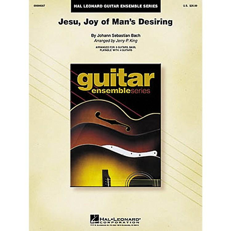 Hal LeonardJ.S. Bach Jesu Joy of Man's Desiring Guitar Ensemble Score