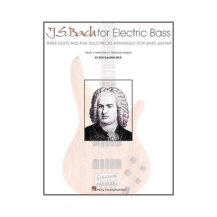 Hal LeonardJ.S. Bach for Electric Bass Guitar