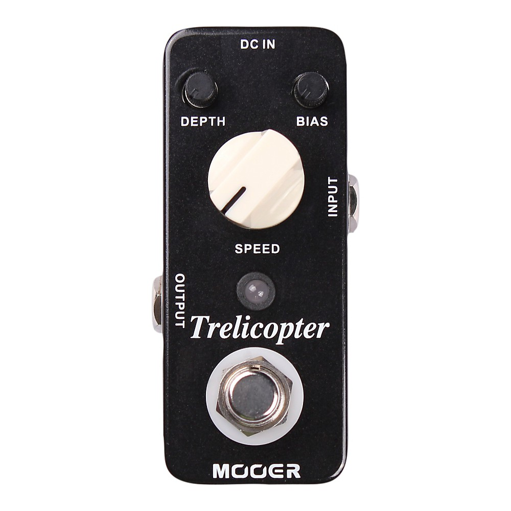 Mooer Trelicopter Tremolo Micro Guitar Effects Pedal