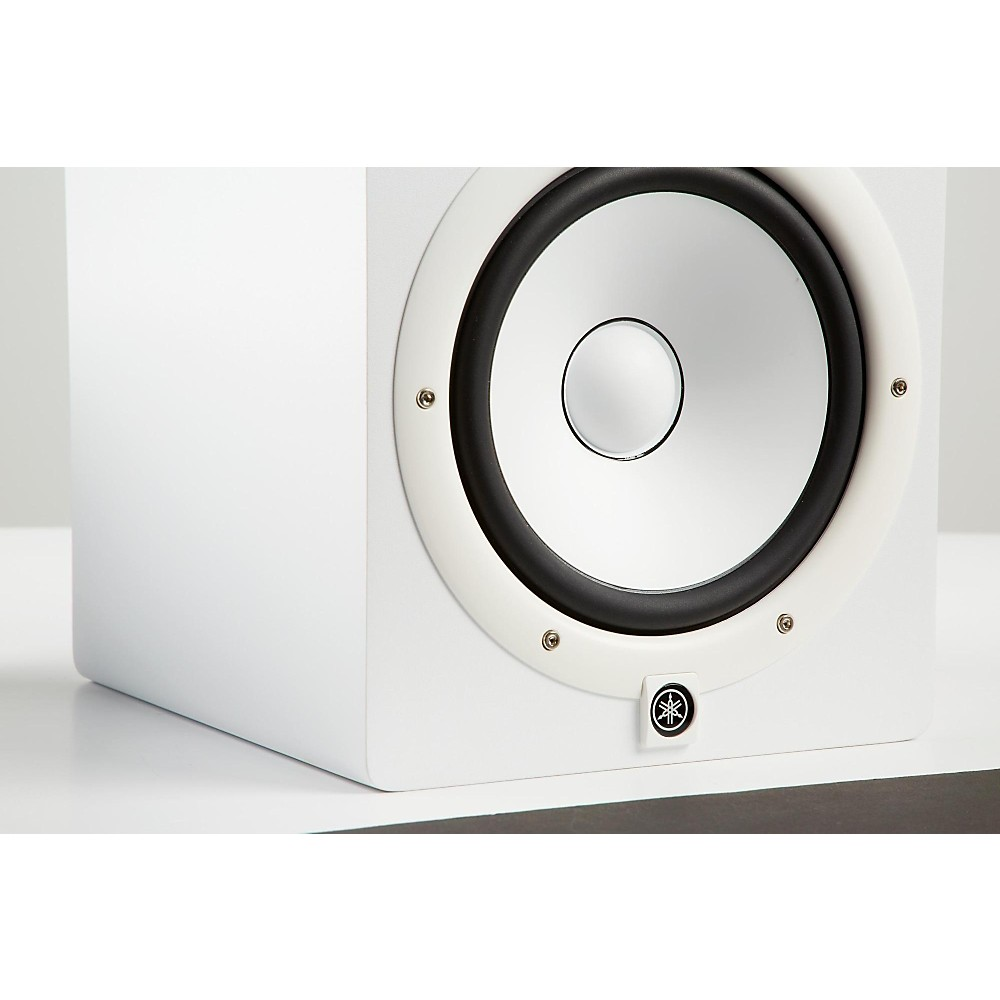 yamaha hs8 w powered studio monitor white ebay