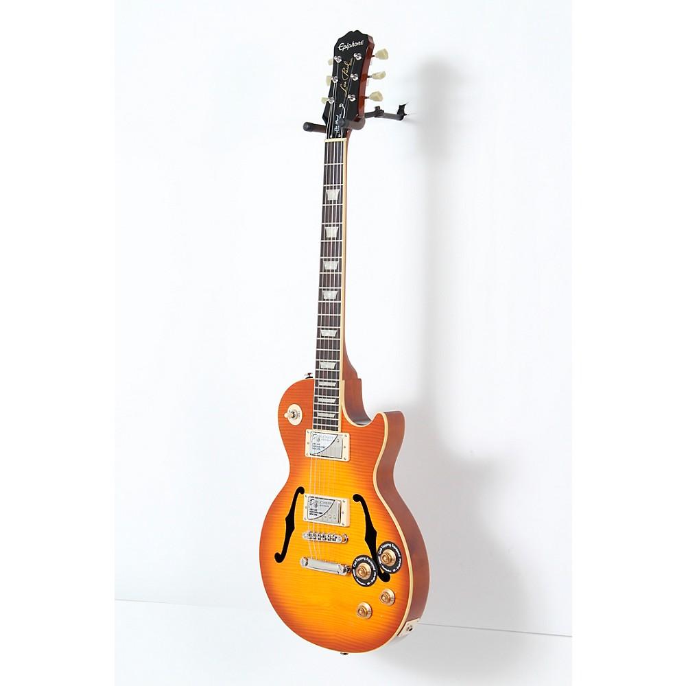 epiphone les paul standard florentine pro hollowbody guitar 190839213587 ebay. Black Bedroom Furniture Sets. Home Design Ideas