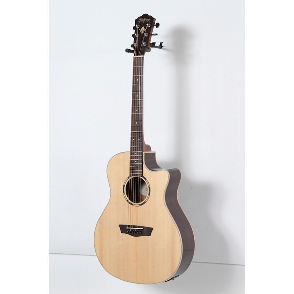 washburn woodline series wlo20sce acoustic electric cutaway orchestra guitar ebay. Black Bedroom Furniture Sets. Home Design Ideas